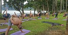 05 private villa outdoor yoga