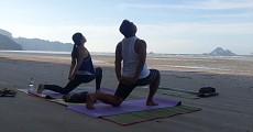11 private class beach yoga